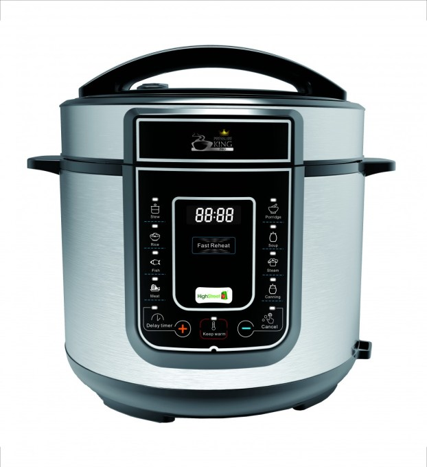 Pressure King Pro – 12-in-1 Digital Pressure Cooker