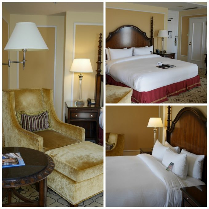 Fairmont Vancouver Hotel Room