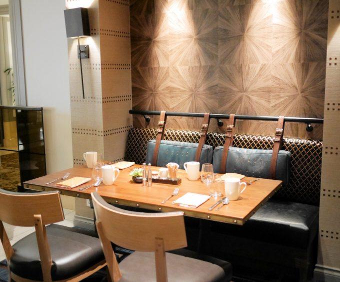 Notch8 Restaurant Bar Fairmont Vancouver Hotel