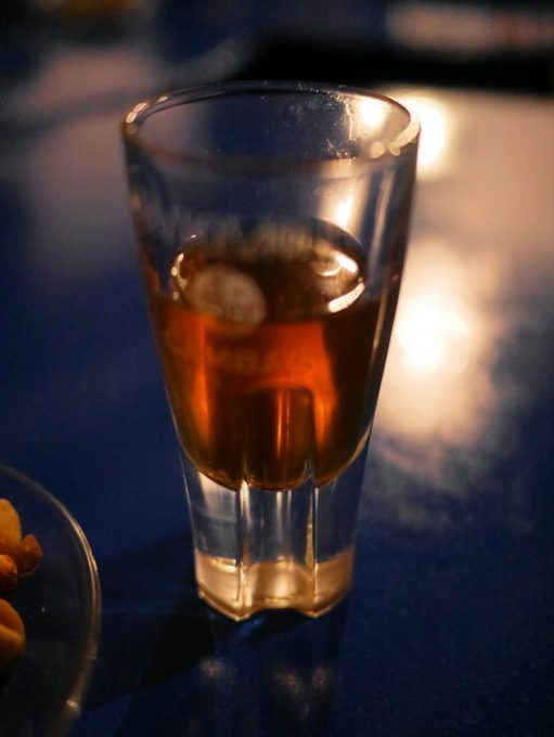 Honey Raki at Mouggou Cafe