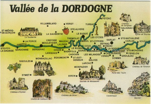 Vallee de la Dordogne