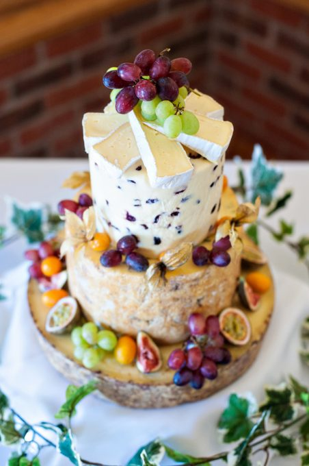Summer French Cheese Cake Tower   Lavender and Lovage cheese wedding cake uk wedding