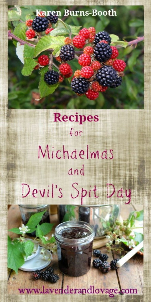 Recipes for Michaelmas and Devil's Spit Day