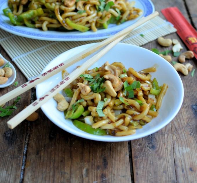 Sesame Cashew Noodles