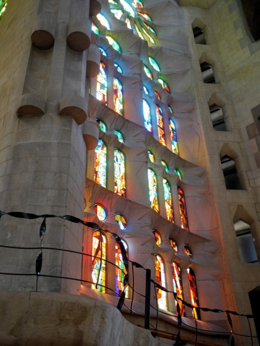 The Sagrada Familia Gaudi Cathedral