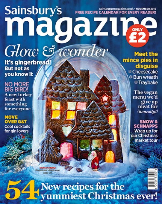 Sainsbury's Magazine November 2016