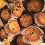 brown banana muffins