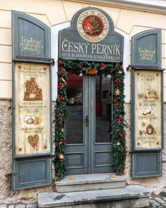The Gingerbread shop in Český Krumlov