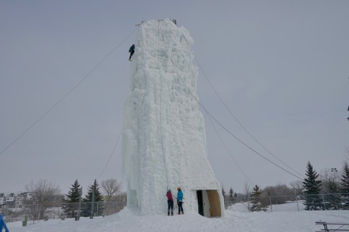 Climbing the Ice Tower: Image Winnipeg Tourism