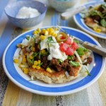 Indian Taco with Bannock