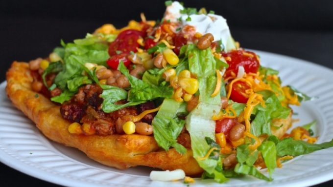 Indian Taco at Feast Cafe Bistro in Winnipeg