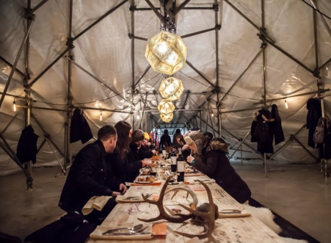 RAW:almond – This annual pop-up restaurant, which is now a Canadian Tourism Award winner, is back on the ice this winter from January 19-February 13, 2017. During RAW:almond diners feast on multi-course meals, prepared by some of North America's (and Winnipeg's) finest chefs, all served in an elaborate tent on the frozen river. It's a culinary experience you won't find anywhere else in the world.