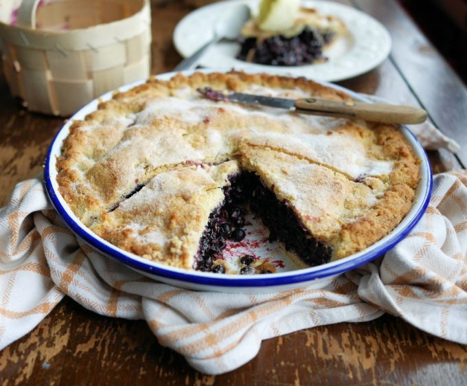 Bilberry Plate Pie