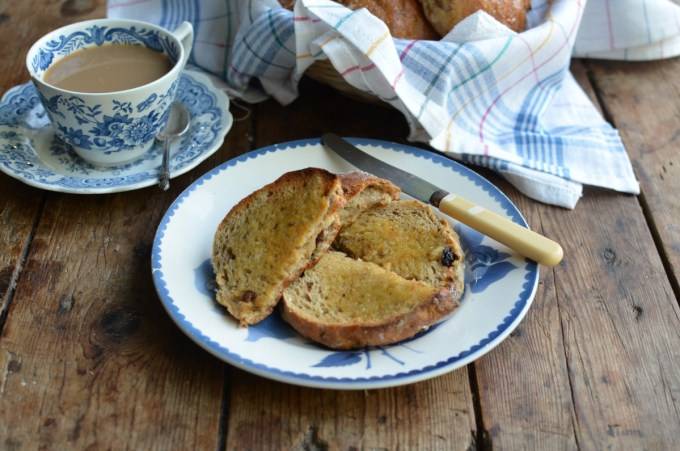 Toasted Teacakes and a Cuppa! Yorkshire Teacakes Recipe