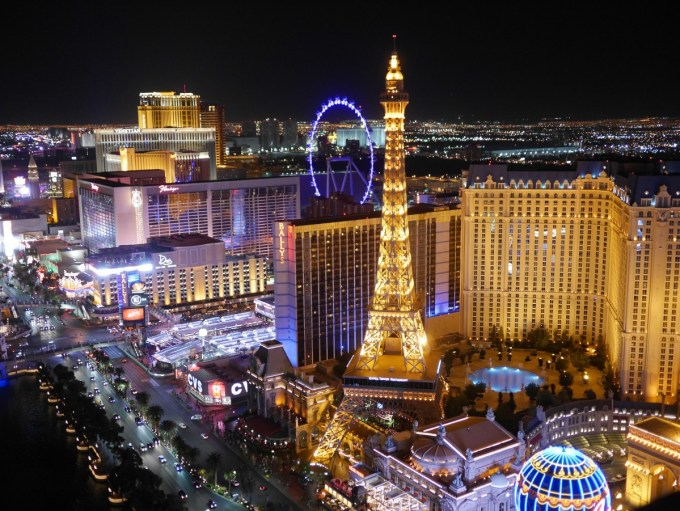 Las Vegas by night