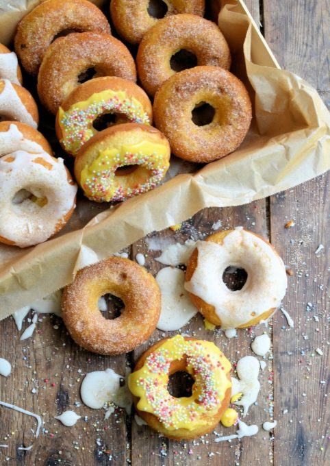 Guilt-Free Baked Doughnuts (Donuts)