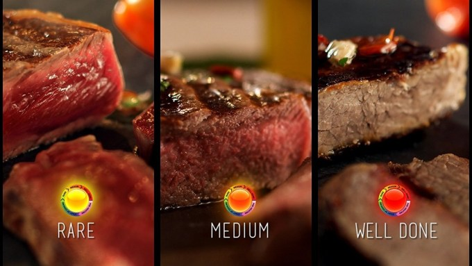 Steak in Optigrill