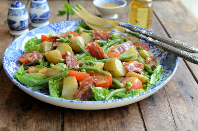Bacon, New Potato & Green Bean Salad
