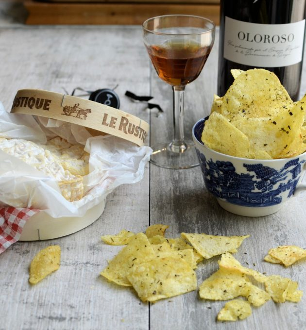Sherry and Cheese and Crisps