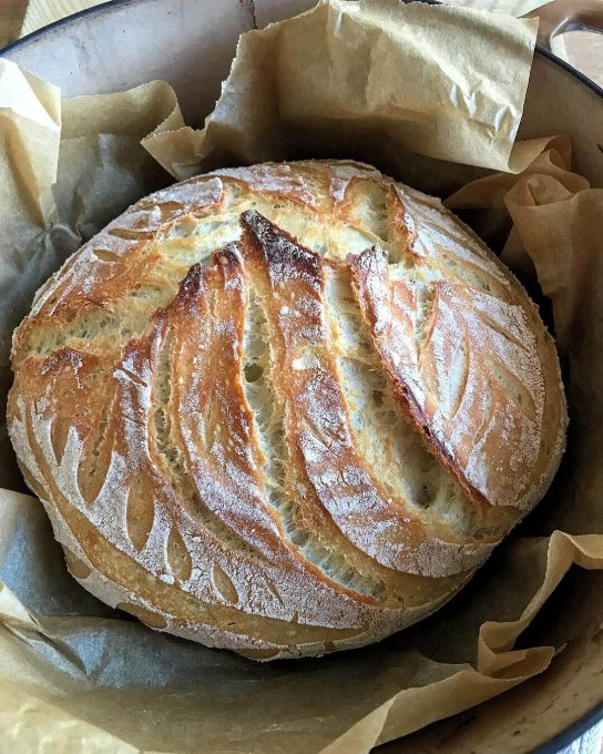 Classic Sourdough Bread