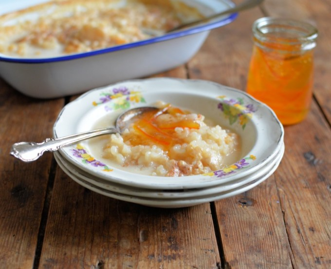 Baked Rice Pudding – Dairy Free