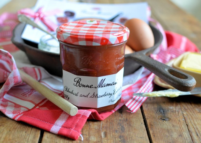 Bonne Maman Rhubarb and Strawberry Conserve