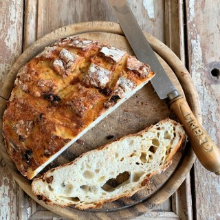 A delicious cheesy sourdough bread with the added warmth of aromatic fennel seeds and juicy sun-dried tomatoes. Makes the most amazing toast.
