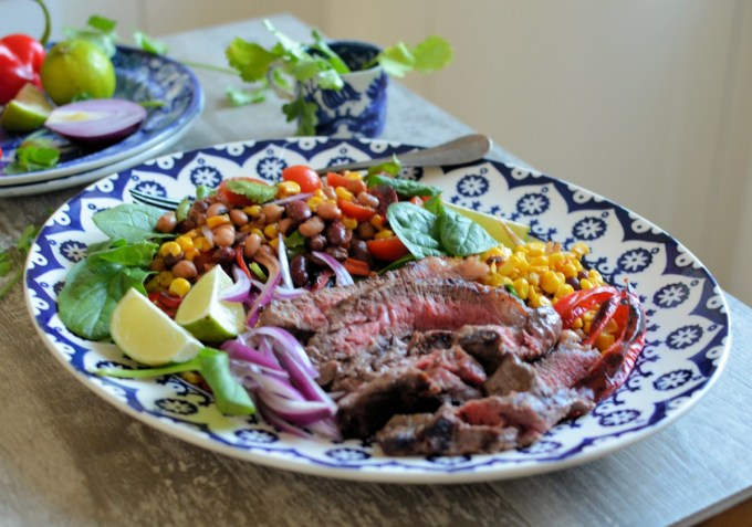 Steak and Bean Salad