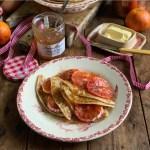 Boozy Bitter Marmalade & Blood Orange Pancakes