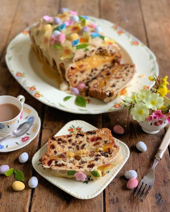 Easy Simnel Cake Lavender and Lovage