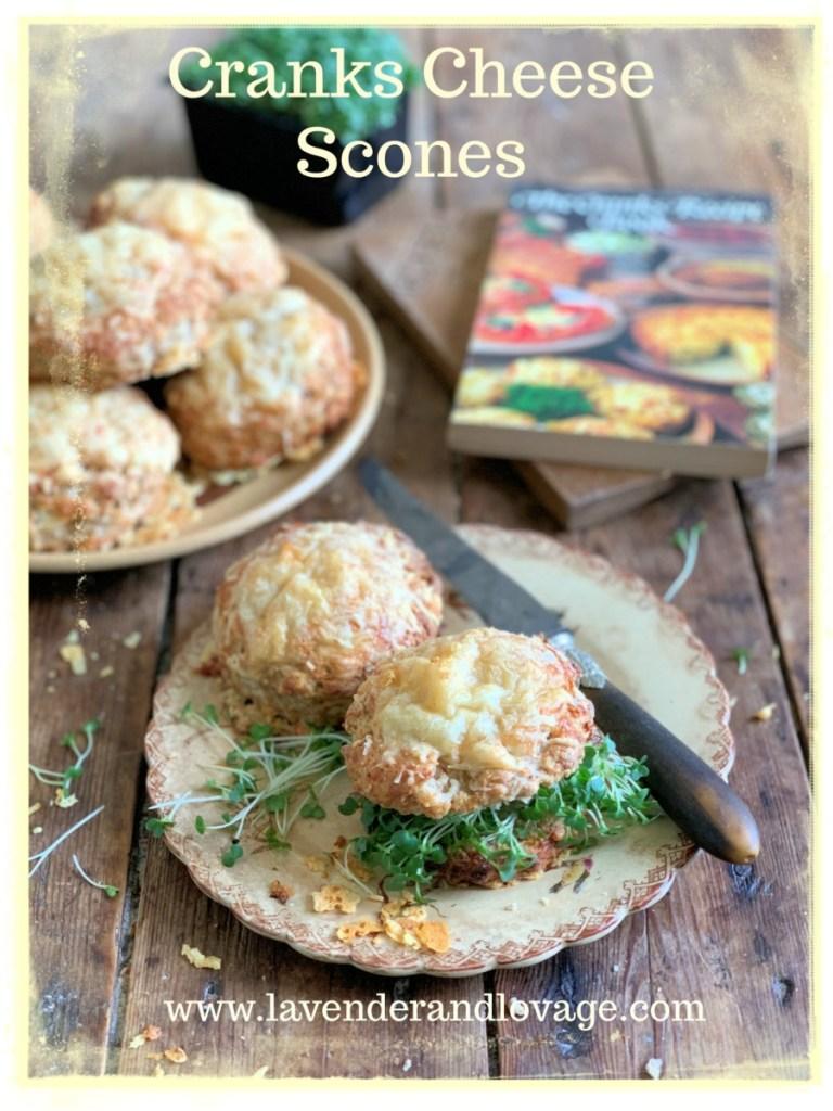 Cranks Cheese Scones