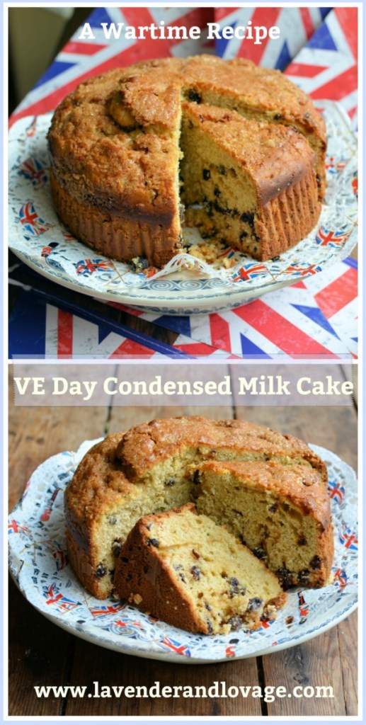 VE Day Condensed Milk Cake