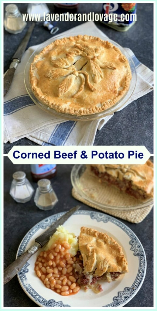 Corned Beef & Potato Pie
