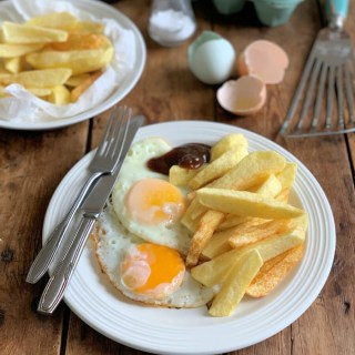 Dad's Egg & Chips
