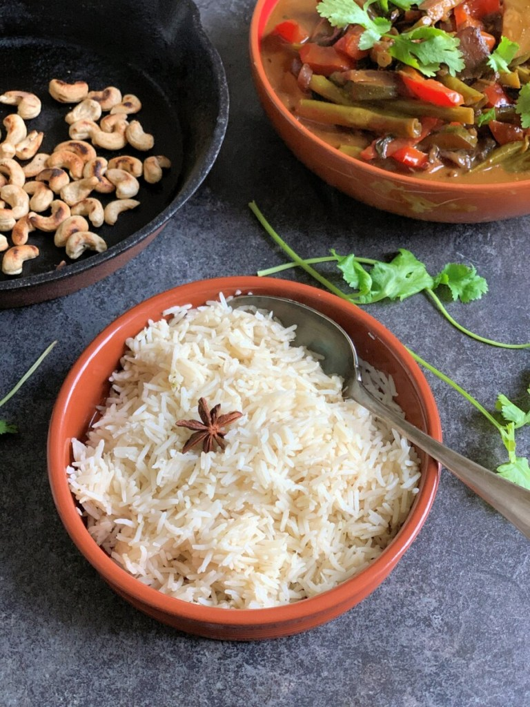 Indonesian Curry with Star Anise Rice