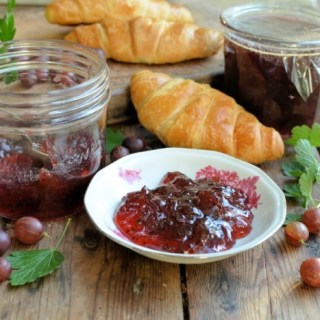 PINK GOOSEBERRY & ELDERFLOWER JAM