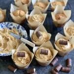 Toffee Salted Caramel Fudge Cakes