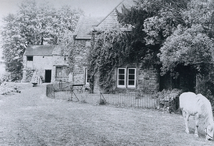 Alison's childhood home: Castle Top Farm, Derbyshire. Photographed in 1985, but much as it was at her birth in 1884.