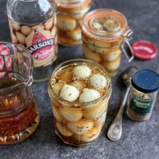 Homemade Traditional Pickled Onions