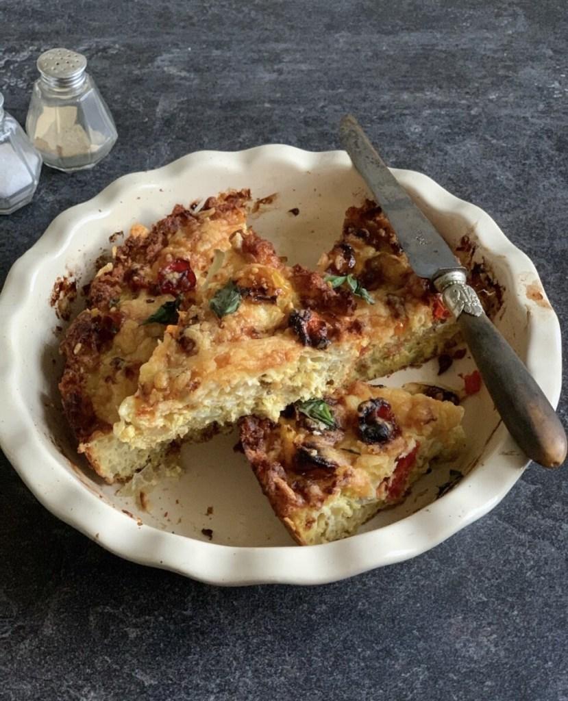 Gluten Free Hash Brown Cheese Quiche