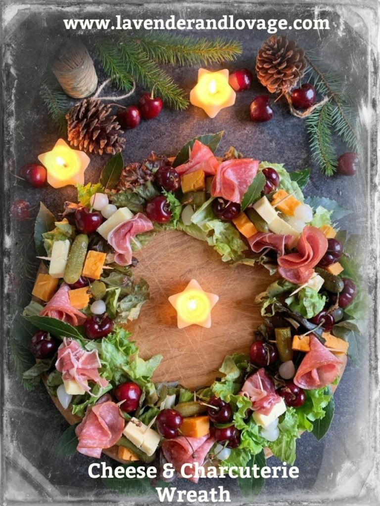 The Cheese & Charcuterie Wreath
