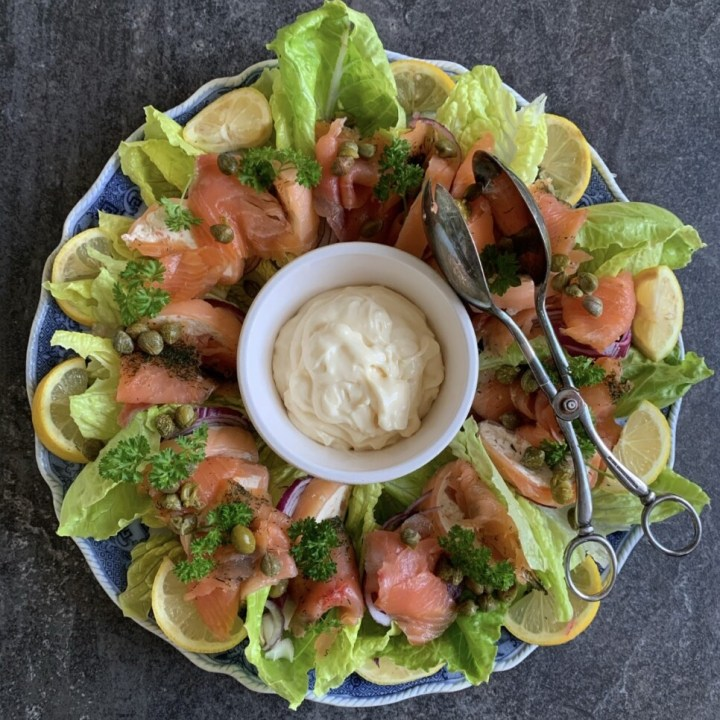 Seafood & Smoked Salmon Wreath