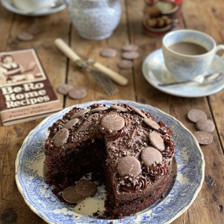 Old Fashioned Milk Chocolate Cake