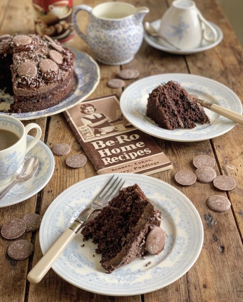 Old-Fashioned Milk Chocolate Cake