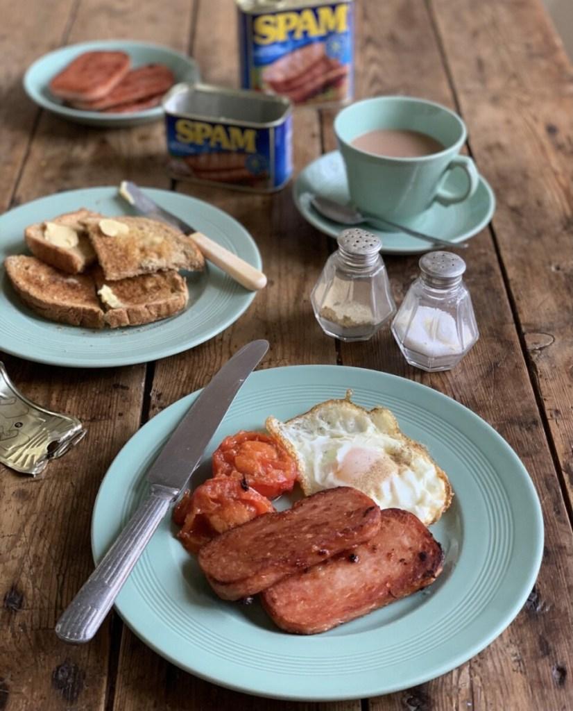 A 1960's Breakfast SPAM® & EGGS