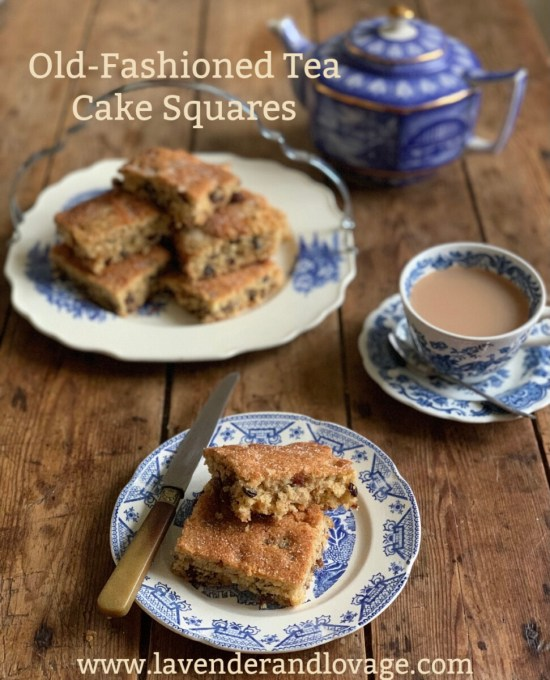 Old-Fashioned Tea Cake Squares