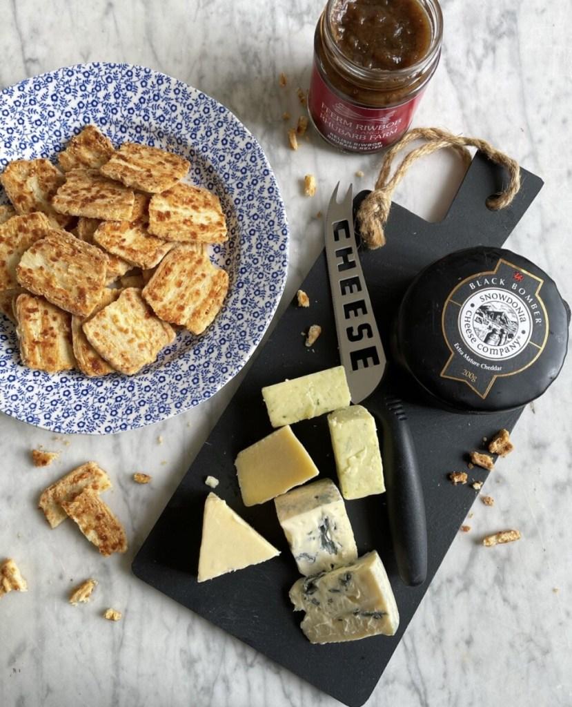 Welsh Cheeseboard Crackers