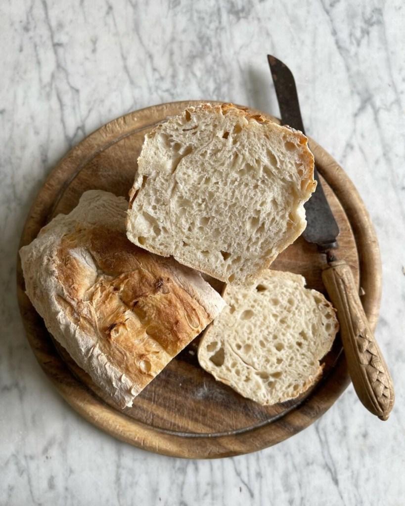 Easy Sourdough Sandwich Bread