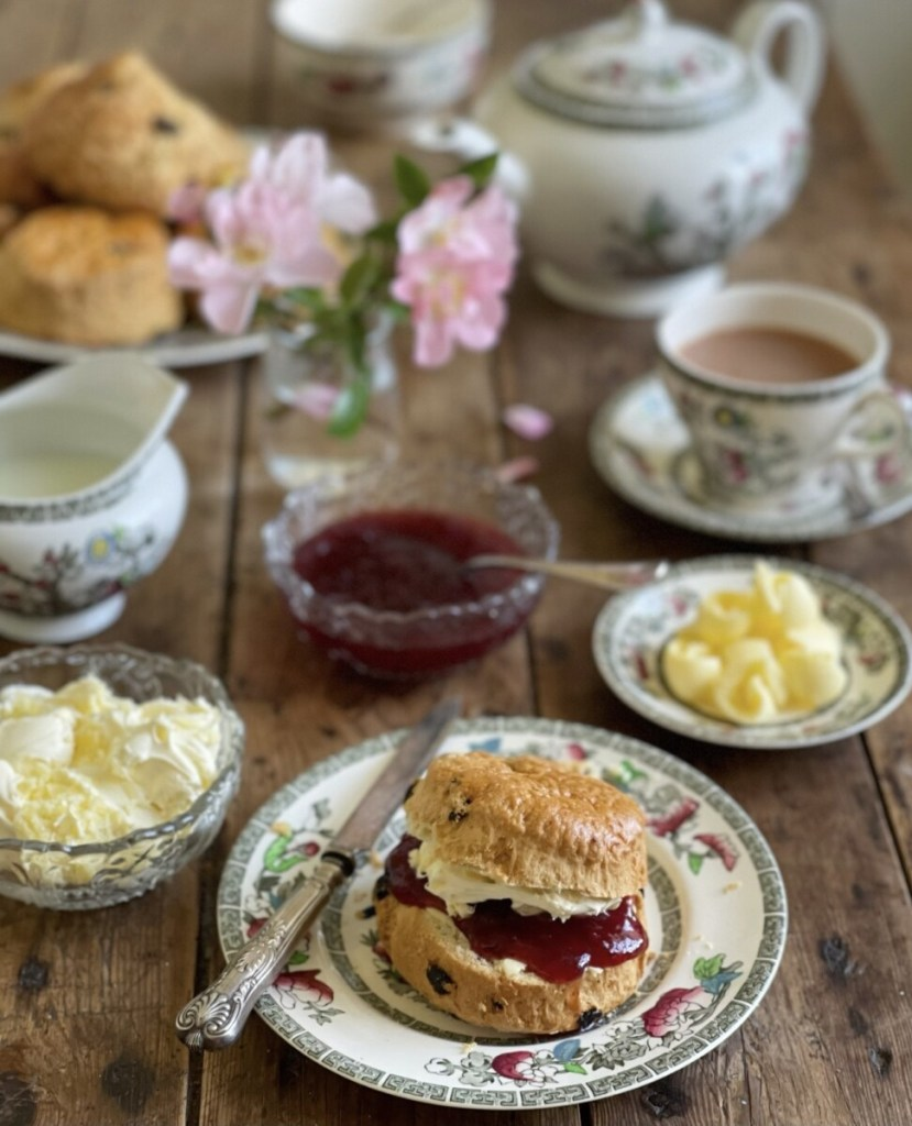 The Cornish way is jam first then cream