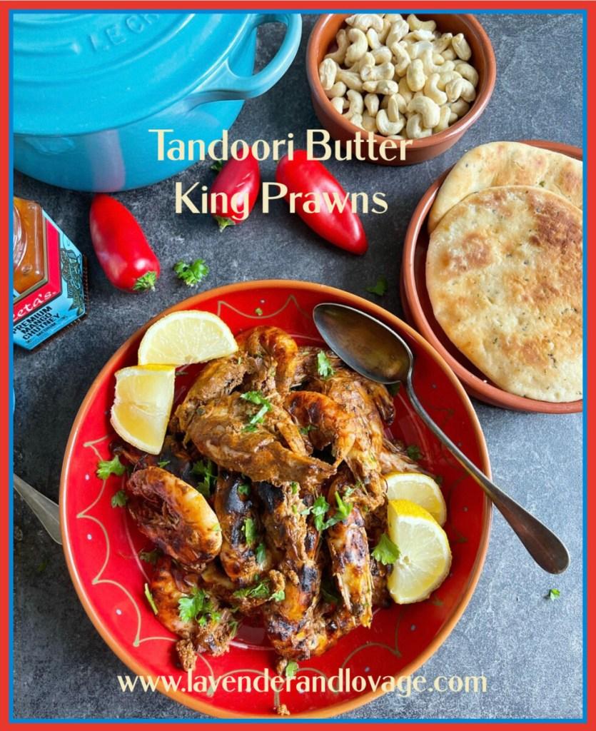 Tandoori Butter King Prawns